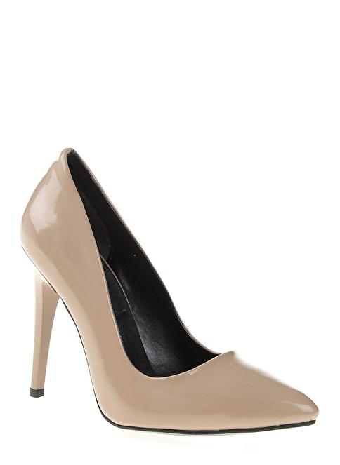 Bambi Stiletto Ayakkabı Vizon
